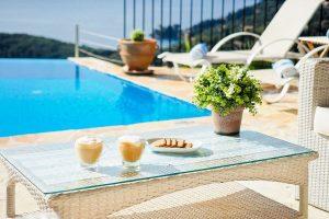 pool furniture corfu