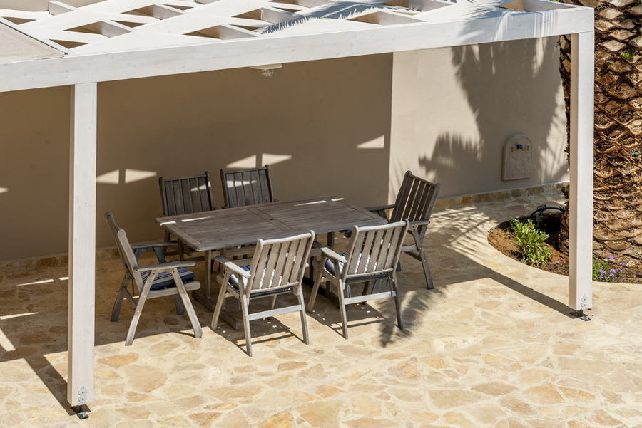garden furniture corfu